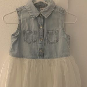Osh Kosh B'gosh Blue Jean Dress 18 months